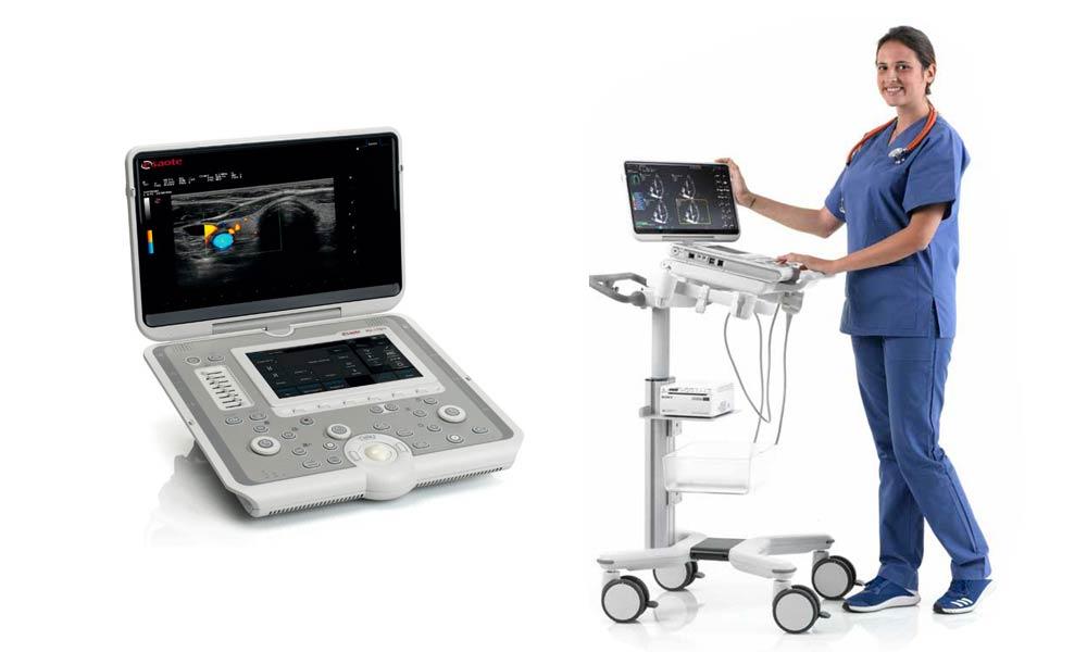 mobilny ultrasonograf
