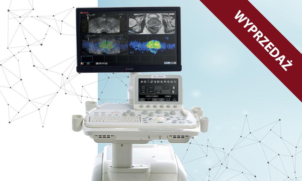 ultrasonograf z wyprzedaży