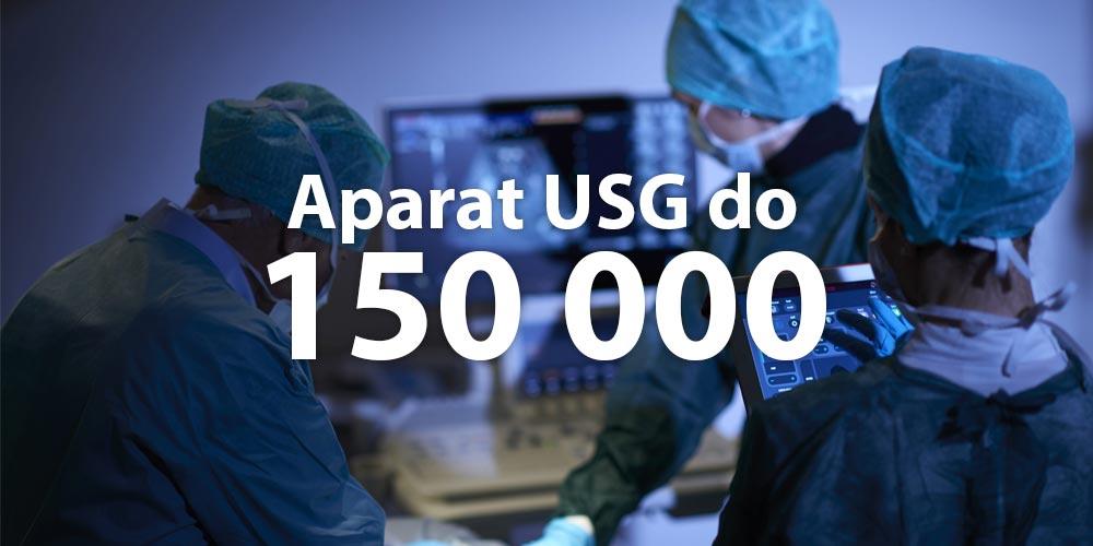 aparat USG cena do 150 000